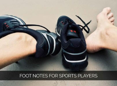Foot Notes for Sports Players