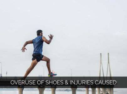 Does overuse of running shoes cause injury? 5 common foot injuries from running.